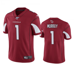 NFL Arizona Cardinals 1 Kyler Murray Red  100th Season Vapor Untouchable Limited  Men Jersey
