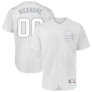Chicago Cubs Majestic 2019 Players' Weekend Pick-A-Player Authentic Roster White Men Jersey