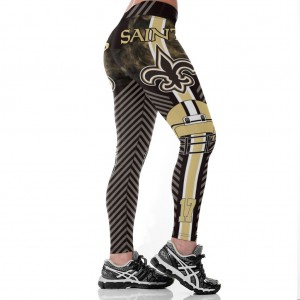 NFL New Orleans Saints Women Leggings 2