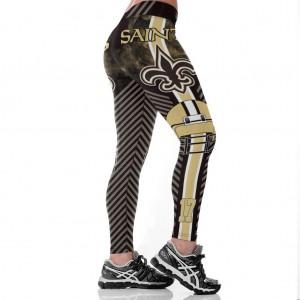 NFL New Orleans Saints Women Leggings 2