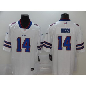 Nike Bills 14 Stefon Diggs White Vapor Untouchable Limited Men Jersey