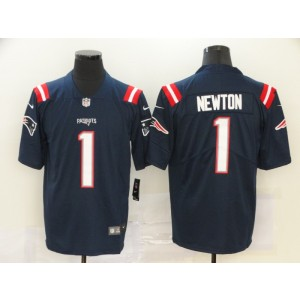 Nike Patriots 1 Cam Newton Navy 2020 New Vapor Untouchable Limited Men Jersey
