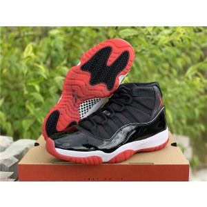 Air Jordan 11 Black Red Shoes
