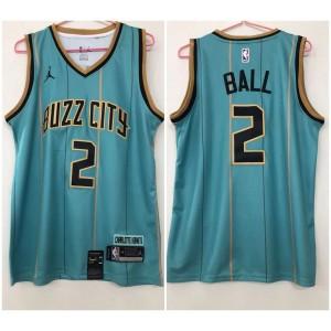 Charlotte Hornets 2 LaMelo Ball new 2020 City jersey