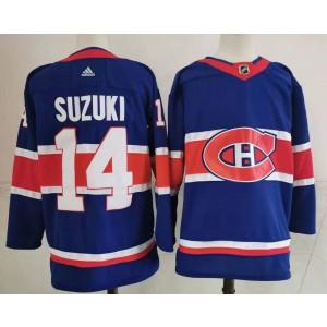 Montreal Canadiens 14 Nick Suzuki 2020 New Jersey