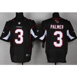 9e5a3f2df Nike Arizona Cardinals Carson Palmer  3 Black Elite Jersey