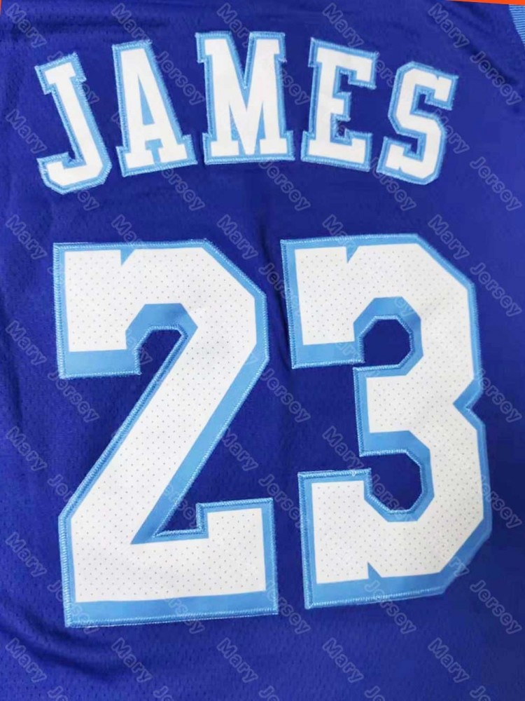 LA Lakers Concept Crenshaw 23 LeBron James Blue Jersey