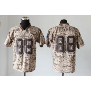 Nike Dallas Cowboys No.88 Dez Bryant Camo Male Elite USMC Jersey