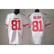Nike San Francisco 49ers No.81 Anquan Boldin White Elite Football Jersey