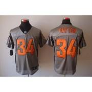 Nike NFL Chicago Bears 34 Walter Payton Grey Shadow NFL Elite Football Jersey