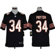 Nike NFL Chicago Bears 34 Walter Payton Navy Blue NFL Game Football Jersey