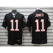 Nike Atlanta Falcons 11 Julio Jones Black Elite Football Jersey