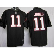 Nike Atlanta Falcons 11 Julio Jones Black Game Football Jersey