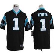 47eff0b1 Nike Panthers 1 Cam Newton Black Vapor Impact Limited Men Jersey