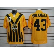 official photos 3b2ef f2f3f Nike Pittsburgh Steelers No.26 Rod Woodson Gold 1933s ...