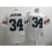 55da21444 NCAA Auburn Tigers 34 Bo Jackson White Throwback Men Jersey