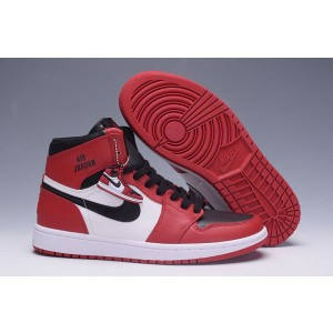 Air jordan 1 Retro White Black Red A01001 Men Women Kid