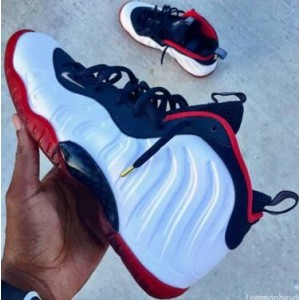 Nike Air Foamposite One USA Olympic Puerged White Shoes