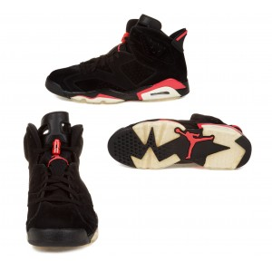 Air jordan VI 6 Infrared Pack Black Infrared & White Infrared A06014
