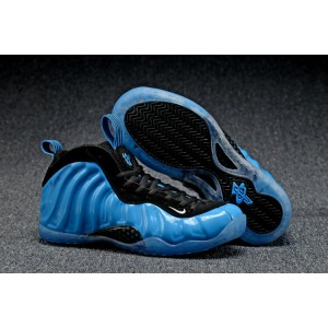 Air Foamposite One Olympic Shoes Azure Black