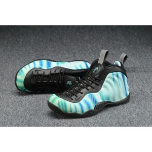 Air Foamposite One Olympic Shoes Green Black White