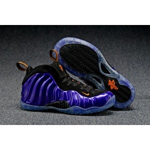 Air Foamposite One Olympic Shoes Purple Black