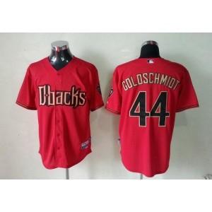 MLB Diamondbacks 44 Paul Goldschmidt Red Fashion Base Men Jersey