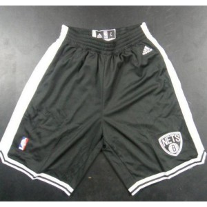 Brooklyn Nets Black Basketball Shorts