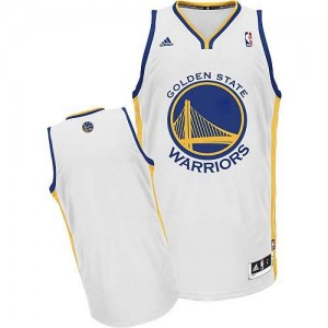 NBA Warriors Blank White Revolution 30 Men Jersey