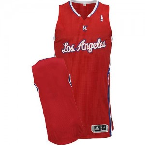 NBA Clippers Blank Red Revolution 30 Men Jersey