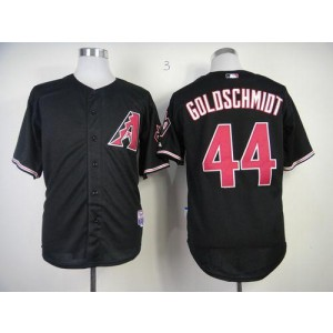 MLB Diamondbacks 44 Paul Goldschmidt Black Cool Base Men Jersey