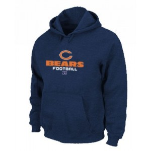 Chicago Bears Critical Victory Pullover Dark Blue Hoodie