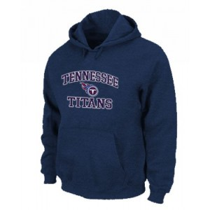 Tennessee Titans Heart & Soul Pullover Dark Blue Hoodie