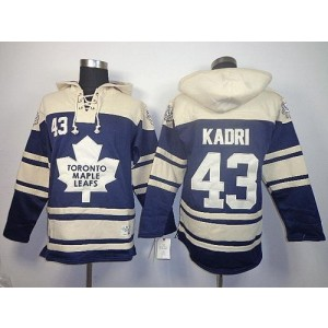 NHL Maple Leafs 43 Nazem Kadri Blue Men Sweatshirt