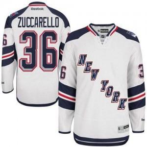 NHL Rangers 36 Mats Zuccarello White 2014 Stadium Series Reebok Youth Jersey