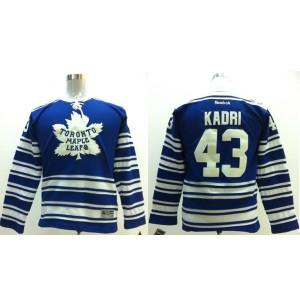 NHL Maple Leafs 43 Nazem Kadri Blue 2014 Winter Classic Men Jersey