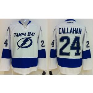 NHL Lightning 24 Ryan Callahan White Men Jersey