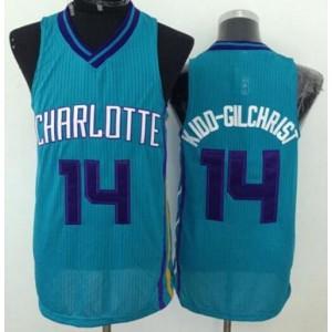 NBA Hornets 14 Michael Kidd-Gilchrist Blue Revolution 30 Men Jersey