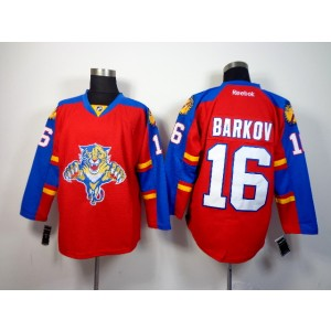 NHL Panthers 16 Aleksander Barkov Red Men Jersey