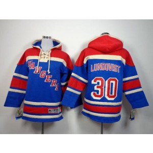 NHL Rangers 30 Henrik Lundqvist Blue Youth Sweatshirt