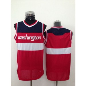 NBA Wizards Blank Red Revolution 30 Men Jersey