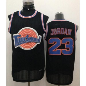Space Jam Tune Squad 23 Michael Jordan Black Stitched Basketball Jersey