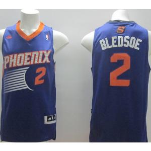 NBA Suns 2 Eric Bledsoe Purple Revolution 30 Men Jersey