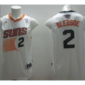 NBA Suns 2 Eric Bledsoe White Revolution 30 Men Jersey