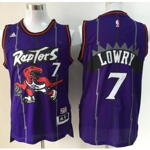 NBA Raptors 7 Kyle Lowry Purple Throwback Youth Jersey