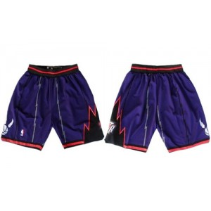 Toronto Raptors Purple NBA Shorts