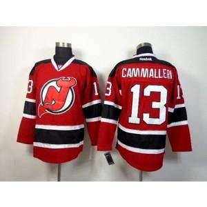 NHL Devils 13 Mike Cammalleri Red Men Jersey