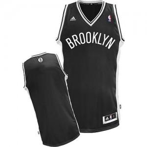 NBA Nets Blank Black Revolution 30 Men Jersey