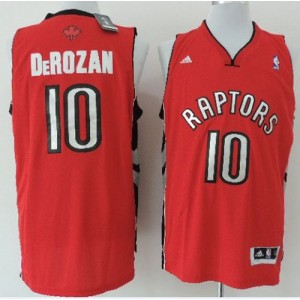 NBA Raptors 10 DeMar DeRozan Red Revolution 30 Men Jersey