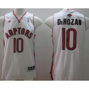 NBA Raptors 10 DeMar DeRozan White Revolution 30 Men Jersey